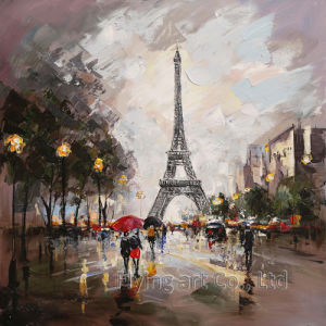 Modern Abstract Street Oil Painting pictures & photos