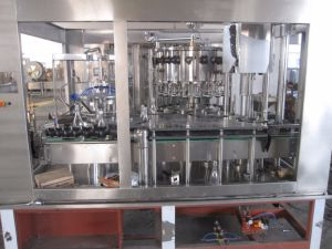 SGS BCGF16-12-6 Glass Bottle Beer Washing Filling Capping 3-in-1 Machine