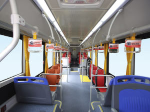 Price of New Color Design Luxury Bus Sunlong Slk6129au6n Natural Gas City Bus pictures & photos