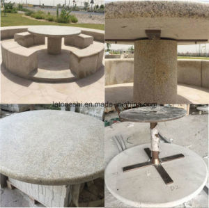 China Yellow Granite G682 Table Top for Garden Barbecue pictures & photos