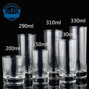 230ml Lead Free, High Temperature Resistant, Fruit Juice Cup, Milk Cup, Beverage Cup, Straight Cup, Beer Cup