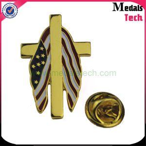 China OEM Manufacturer Custom UAE Hard Enamel Metal Lapel Pins pictures & photos
