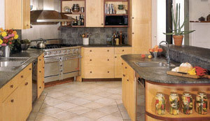 Black Custom Sized Kitchen Countertop Cheap Price pictures & photos