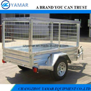 7X5 Hot DIP Galvanized Farm Trailer pictures & photos