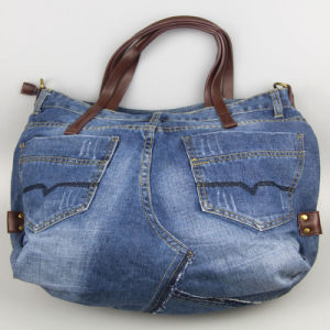 Women Jeans Handbag, Canvas Bags, Cotton Casual Bag Fashion Accessory pictures & photos