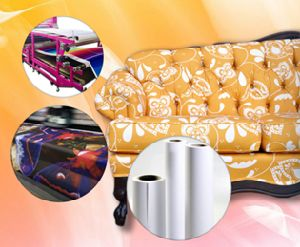 Competitive Quality Fast Dry Non-Curled Fw 75GSM Sublimation Paper Roll Used for Polyester//Lycra pictures & photos