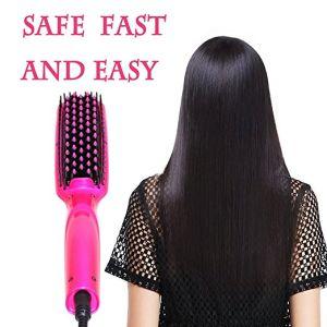 Professional Magic Ionic Brush Hair Straightener pictures & photos