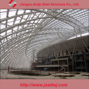 Prefabricated Large Span Steel Truss Roof for Steel Structure Gymnasium pictures & photos