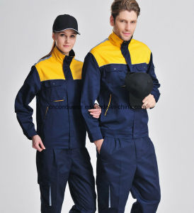 OEM Custom Design Factory Worker Uniform/Good Quality Staff Working Uniform pictures & photos