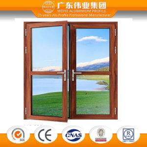 75 Series Heat Insulation Double Glass Open Inside Aluminum Door pictures & photos
