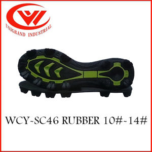 2017 High Quality Rubber Outsole for Making Soccer Shoes pictures & photos