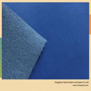 Best Supplier of PU Shoe Lining Leather China Leather for Shoes pictures & photos