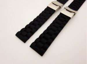 Water Ripples Silicone Watch Band pictures & photos