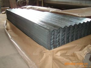 Building Materials Aluminum Zinc Coated Corrugated Steel Sheet for Roofing pictures & photos