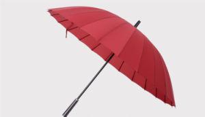 24k Steel Tank Gentleman Umbrella pictures & photos