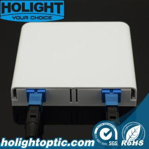 Fiber Optic FTTX 2 Ports Faceplate pictures & photos