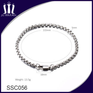 Hot Selling Jewelry Couple 304L Stainless Steel Women Chain Bracelet pictures & photos