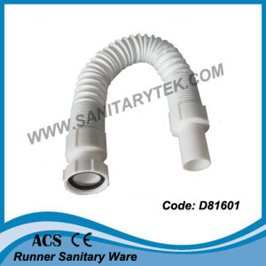 Flexible & Extensible PVC Drainage Pipe (D81602) pictures & photos