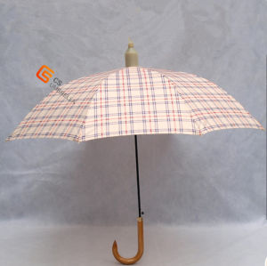 Non-Drip Umbrella with Plastic Cover for Gift Straight Umbrella (YS-1020A) pictures & photos
