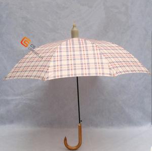 Non-Drip Umbrella with Plastic Cover for Gift Straight Umbrella (YS-1020A)