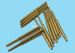 Gold Plated Pogo Pin Connector with Spring Load pictures & photos