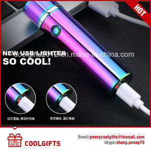 Top Quality Electronic Double Arc Metal USB Charged Lighter pictures & photos