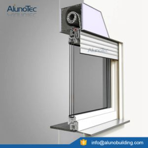 Motorized Rolling Blind Window Aluminum Roller Shutter pictures & photos