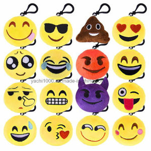 Lovely Mini Emoji Toy Keychain pictures & photos