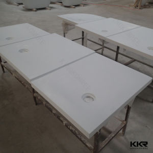 Anti-Skidding Solid Surface Bathroom Shower Tray (T002) pictures & photos