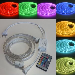 Multi Color LED Strip Light Color Changing RGB Rope Lighting pictures & photos