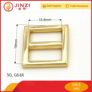 High Quality Metal Tri-Glide Belt Buckles Slider Buckle for Handbags pictures & photos