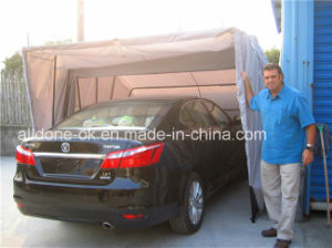 Retractable Folding Car Shelter Garage Umbrella Sunshade Roof Tent pictures & photos