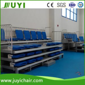 Multi-Colour Retractable Seating System Telescopic Bleacher Jy-769 pictures & photos
