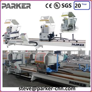 Aluminum PVC Profile Double Heads Mitre Saw pictures & photos