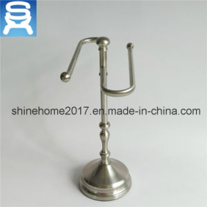 Solid Chrome or Nikel Plated Wire Kitchen or Bathroom Paper Towel Holder pictures & photos