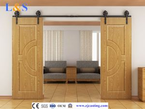 New High Quality Wooden Sliding Door Hardware (LS-SDU-020) pictures & photos
