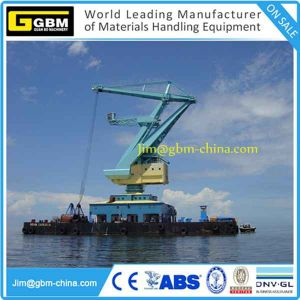 20t30m Floating Ship Crane with Gbm Four Wire Ropes mechanical Grab pictures & photos