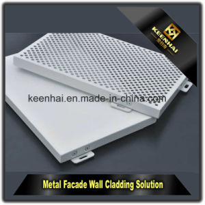 Laser Cut Metal Perforated Aluminum Sheet Metal Panel pictures & photos