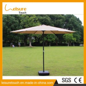 Custom Stylish Wholesale Price Windproof Cheap Outdoor Umbrella Hotel Parasol pictures & photos