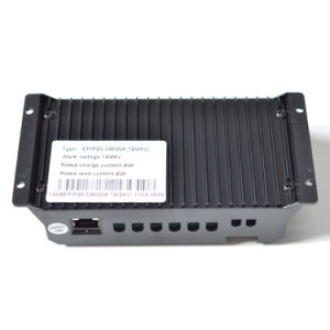 Epever 10A/20A 12V/24V Solar Controller with Duo-Battery for RV dB-10A pictures & photos