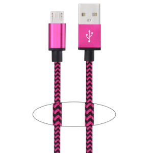 Nylon Insulated 8 Pin Lightning USB Cable for Smart Phone pictures & photos