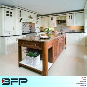 Special Desing Luxury Furniture Solid Wood Kitchen Cabinet pictures & photos