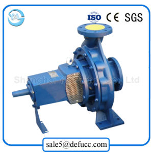 High Efficiency End Suction Centrifugal Pump with Electric Motor Set pictures & photos