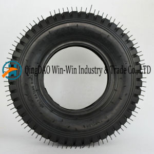Wear-Resistant Rubber Wheel for Platform Trucks Wheel (4.00-8) pictures & photos