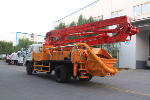 2017 New Dongfeng 4X2 21m Concrete Pump Truck for Sale pictures & photos