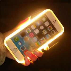Lighting PC Mobile Phone Case with Power Bank for iPhone5/6/7 pictures & photos