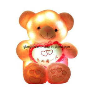 LED Color Teddy Bear with Music pictures & photos
