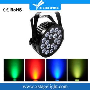 DJ PAR Cans RGBWA UV 6in1 18*18W Outdoor PAR LED pictures & photos