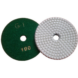 Four Steps Polishing Pad Diamond Flexible Dry Polishing Pad for Marble Granite Concrete pictures & photos