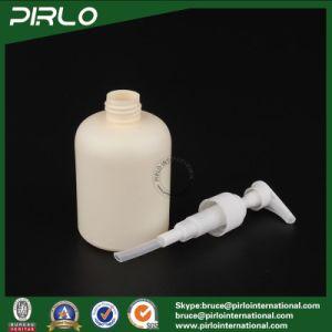 200ml Beig Shampoo Use Plastic Bottle with Pump Sprayer Empty Cosmetic Use Spray Bottle Shower Gel Spray Bottle Plastic pictures & photos